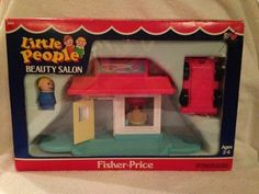 Vintage Fisher Price Little People 2453 Beauty Salon