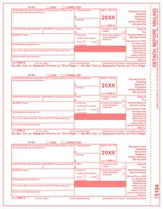 Irs Approved      Tax Forms Use Form  To Report