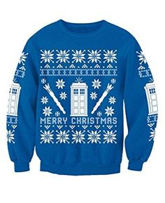 dults Inspired By Star Wars Dr Who Breaking Bad Christmas Sweatshirt Christmas TV Movie Film Jumper