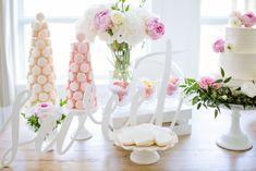 Dessert Table| Garden Wedding Party | http://monikahibbs.com
