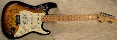 Blues Guitar!  Hand signed by: BB King – Eric Clapton – Jeff Beck – Gregg Allman – Buddy Guy – Johnny Winter – Robert Cray  http://www.rockstargallery.net/blues-guitar-1-gtrblues366  #ericclapton #bbKing #BuddyGuy #jeffbeck #greggallman #johnnywinter#robertcray