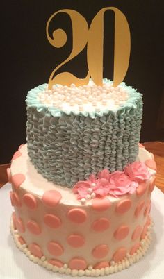 32 Inspired Picture Of 20Th Birthday Cake Because A Party Without Is Just Meeting Creatively HappyBirthdayCakePic