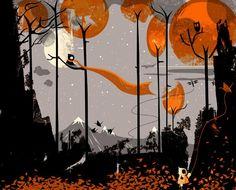 """@russwillwood: ...Surreal & Visionary Art92...Serendipity Autumn by Graham Carter ..http://www.graham-carter.co.uk/  """