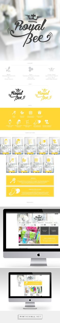 RoyalBee.ro Branding & Web design // Didi Kasa | Independent Graphic & Web Designer - created via http://pinthemall.net