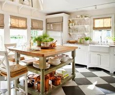 In Love With the style of this kitchen