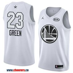 0af09e869 men s western conference golden state warriors klay thompson white 2018 nba  all-star jersey