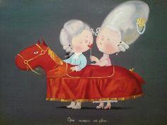 Одна лошадка на двоих...