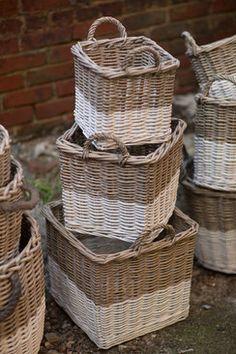 Willow Square Basket Set of 3