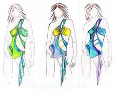 Pattern dance costume salsa dress go go  pole by CrinolinAtelier