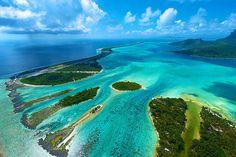 Bora Bora, French Polynesia sea