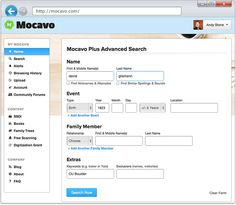 Advanced Genealogy Search Tools - Mocavo is the world's largest genealogy search engine with more than 6 billion names in the index. On Mocavo, users can search across millions of family history resources from one centralized website.