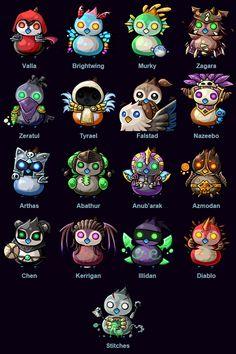"flameshock: "" Pepe's of the Storm ""Artwork by ZHArDoom (扎尔杜姆), via Blizzard "" """