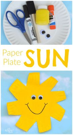 This paper plate sun