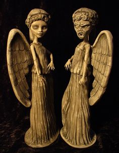Weeping angels from Monster High Dolls