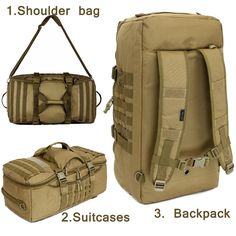 51.48$  Know more - Outdoor Military bag Army Tactical backpack Molle waterproof camouflage Rucksack pack hunting Sports Hiking camping shoulder bag   #magazine