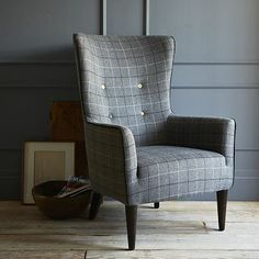 Victor Armchair - Plaid #westelm