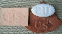 We can make you a custom Leather Embossing Die with any text font graphic or logo that can be used with a press These are low-cost hard plastic dies We Leather Embossing, Embossing Stamp, Leather Stamps, Leather Crafting, Thing 1, Craft Business, Custom Leather, Makers Mark, Madness