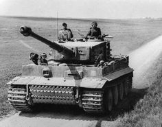 Tiger I in northern France, March 1944.