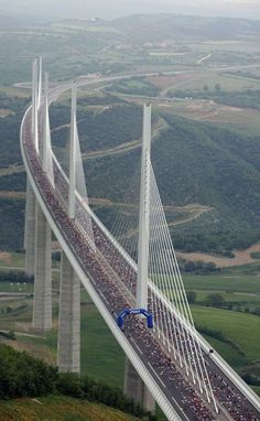 The beautiful Millau Viaduct, France - Places to explore