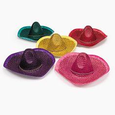 Adult Sombreros - OrientalTrading.com - $25 per dozen
