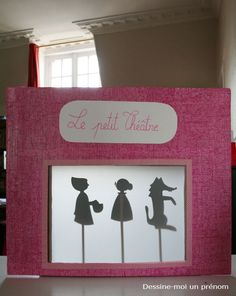 DIY-tutoriel-fabriquer-un-theatre-d-ombres-12 Diy For Kids, Crafts For Kids, Kids Outdoor Play, Shadow Puppets, Kirigami, Paper Dolls, Kids Playing, Activities For Kids, Fairy Tales