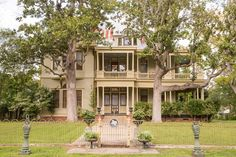 Located in Smithville, Texas, this mansion is probablythe only Victorian home on the Lower Colorado River. It sits on three acres and was built of cypress with double wrap porches . Future House, My House, Historic Homes For Sale, Victorian Photos, Old Mansions, Colorado River, Renting A House, Hgtv, Old Houses