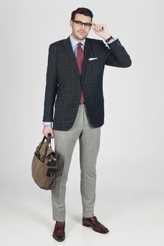 Great styling for a business look
