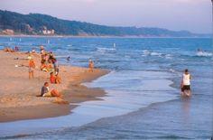Grand Haven State Park Beach - Grand Haven, Michigan