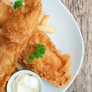 Authentic British Fish and Chips Recipe...made this and they came out real greasy....