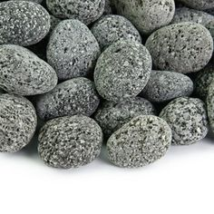 Fire Rock - 10 Pounds of Fireproof and Heatproof Round Pebbles for use in Indoor or Outdoor Gas Fire Pits and Fireplaces - Organic, Natural, Hand-Picked Stones - Black) Wood Fire Pit, Glass Fire Pit, Fire Pits, Fire Pit Accessories, Fairy Garden Accessories, Fire Pit Lava Rocks, Fire Pit Liner, Fire Pit Spark Screen, Rock Planters