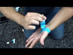 Thumb Strain Pain Kinesio Taping Thenar Eminence | Northern Soul channel - YouTube