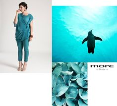 Tone on tone. #Acquamarine #MoodBoard