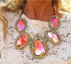 wow! Great statement jewelry