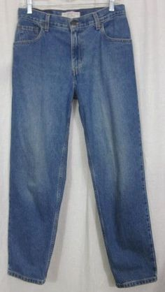 Levi Strauss Signature Jeans Size 8 Short 30x29 Relaxed Fit Free Shipping #LeviStraussSignature #Relaxed