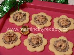 Linecké koláčky s ořechy