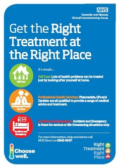 Right Treatment Right Place poster