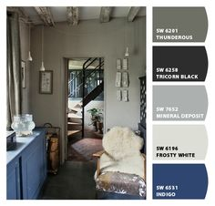 ✿ Chipped by Collette Dierre via Sherwin-Williams ✿ Image Source: bloodandchampagne.com ✿
