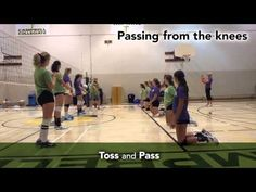 Volleyball Drills For Beginners, Volleyball Passing Drills, Volleyball Gifs, Volleyball Skills, Volleyball Practice, Volleyball Training, Volleyball Workouts, Coaching Volleyball, Volleyball Players