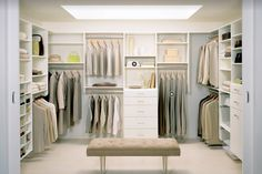 I used to want a huge closet and dressing room type deal because I wanted to have more room for clothes. Now I want one so that Dan or I can get dressed with Felix while the other sleeps in.