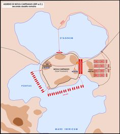 File:Assedio Nova Carthago 209 aC - seconda fase.png