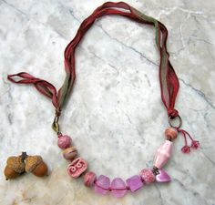 rose garden necklace  . . .