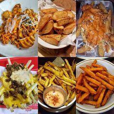 Happy #NationalFryDay to all! -- #FRYday #Fries #Frites #FrenchFries #BanhMiFrites #WaffleFries #PotatoWedges #VodkaSauce #AnimalStyle #FancySauce #SweetPotatoFries #Carbs #Food #Foodie #Instafood #FoodPorn #Foodstagram #SEAK #Japan #AsburyAleHouse #InNOut #GreyGhost #JuanysCafeAndGrill #Eeeeeats #FoodPics #FoodBlogger #FoodBlog #DesiredTastes