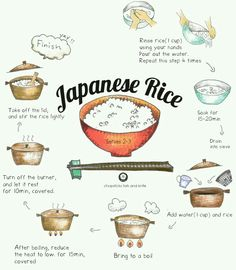 how to cook Japanese rice on stove -You can find Japanese food and more on our website.how to cook Japanese rice on stove - Asian Cooking, Cooking Tips, Cooking Recipes, Cooking Games, Cooking Bacon, Cooking Classes, Cooking Turkey, Oven Cooking, Cooking Food