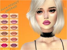 Lipstick PERFECT COVERAGE at Angissi • Sims 4 Updates