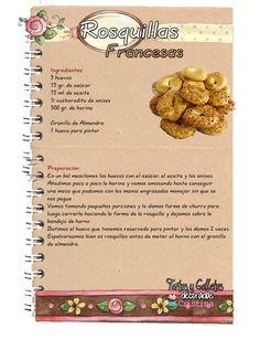 Tartas, Galletas Decoradas y Cupcakes: Rosquillas de San Isidro: Rosquillas Listas, Tontas, de Santa Clara y Francesas