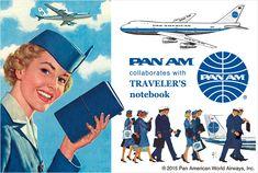 PAN AM x TRAVELER'S notebook / パンナム x トラベラーズノート | TRAVELER'S COMPANY