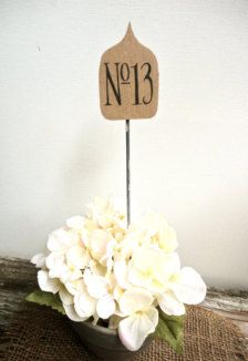 Wedding Table Numbers - Wedding Decorations - Page 2 - Etsy