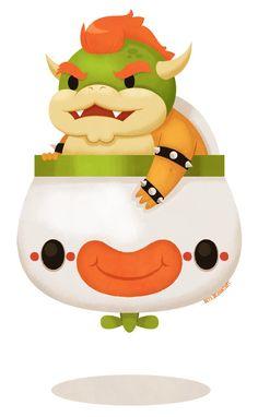 Koopa Clown Car by *beyx on deviantART