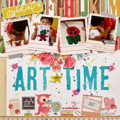 ART TIME - Scrapbook.com