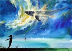 Artist: Zaczac Namoo (Sung Ho Lee) Korean, Watercolour